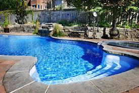 Backyard Pool With Slide - aaa pools ga