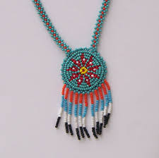 indian beads necklace images Native american beaded necklaces accordion necklace jpg