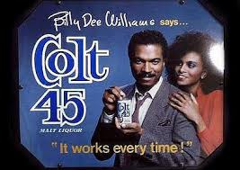 Lando Calrissian Meme - billy dee back to repping colt 45