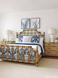 twin palms st kitts rattan bed lexington home brands