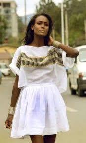 16 Best Habesha Dress Images On Pinterest Ethiopian Dress