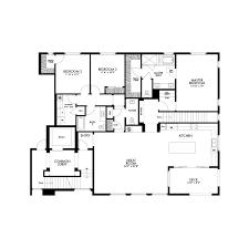 residential floor plan residence 3