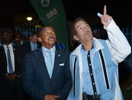 Botswana Flag Welcome To Daily News General President Khama Launches Giant