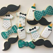 bow tie and mustache baby shower baby shower cookies baby shower a little man little boy