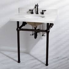 sink with metal legs white quartz 30 inch wall mount pedestal bathroom sink vanity with