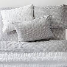 snowball dot flannel sheet set pbteen