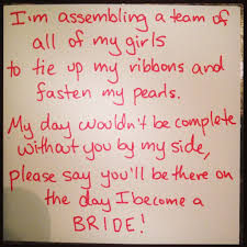 asking bridesmaids poems i m really proud because i wrote this poem myself to ask my