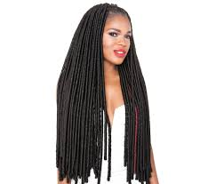 soft dred hair afri naptrual long soft dread locs is very versatile you can