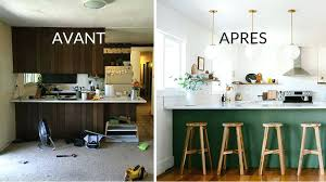 renovation cuisine bois avant apres cuisine avant apres oldnedvigimost info