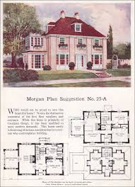 Simple Colonial House Plans This Is The Morgan Plan From 1923 And I Love It I So Was Born