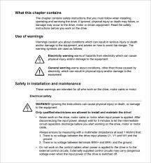safety manual template construction phase plan template 14 free