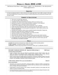 Social Worker Resume Examples by Examples Of Resumes Job Resume Sample Format For Paramedical
