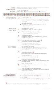 celebrity constellation menus