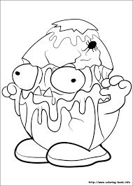 trash pack coloring pages coloring book