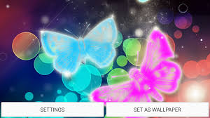 neon butterfly live wallpaper android apps on google play