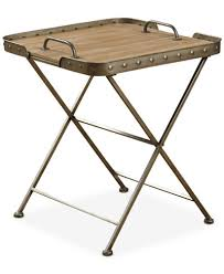 Folding Side Table Venten Top Folding Side Table With Removable Tray Top Ship