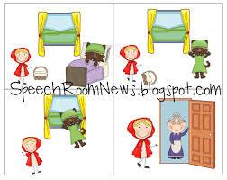 red riding hood book companion speech room
