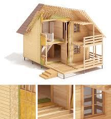 lht wood frame house construction on behance каркасное стр