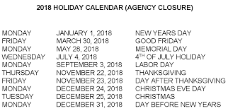 holidays the threshold inc