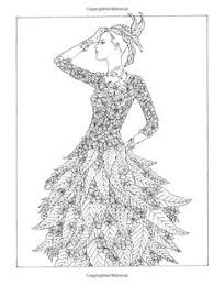 fashion design coloring pages creative haven jazz age fashions coloring book by ming ju sun