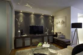 House Design Styles Cute Family Room Interior Design Styles With White Backdrop Tv