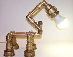 pipe lamp etsy