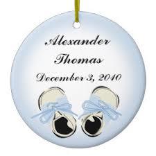 baby shoes ornaments keepsake ornaments zazzle