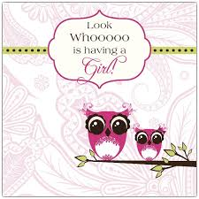 funky owl baby shower invitations paperstyle