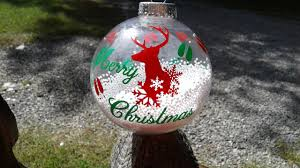 big clear ornaments customized ornaments