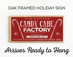 framed christmas tree farm sign rustic holiday art for signs