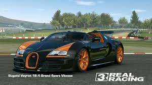 gold and white bugatti bugatti veyron 16 4 grand sport vitesse real racing 3 wiki