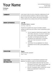 Sample Image Of Resume by Free Resume Samples Amp Writing Guides For All Sample Maintenance