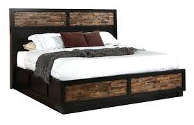 interior rustic queen bed frame with storage king plans ding