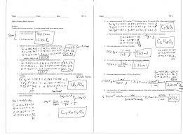 chemistry stoichiometry worksheet free worksheets library