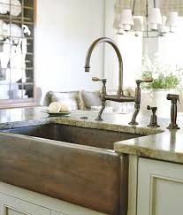 Kitchen Faucet For Farmhouse Sinks A Beautiful Farmhouse Kitchen Sinks Rustic Gold Farmhouse Kitchen