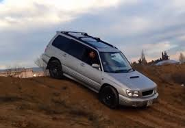 subaru forester rally wheels subaru forester off road awd test drive mud water hillclimb youtube