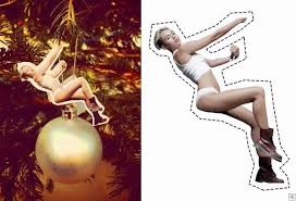 amyoops create your own miley cyrus wrecking ornament