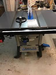 delta 10 inch contractor table saw delta 10 contractor table saw 300 00 picclick