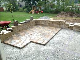 Concrete Garden Furniture Molds by Patio Ideas Concrete Patio Paver Border Concrete Paver Patio