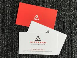 alterman business cards inspiration cardfaves