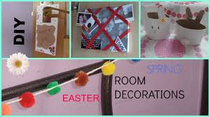 Diy Spring Easter Decorations by Diy Spring Easter Room Decorations Youtube