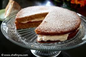 eggless vanilla sponge cake recipe sponge sandwich cake chef