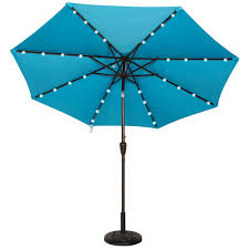 Fringed Patio Umbrella by Patio Ideas Solar Powered Led Patio Umbrella Bcp 10 X 65 Led