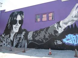 michael jackson mural in la replaced by another michael jackson is the new mural also by rudy rude at this stage it is unclear but here the transformation
