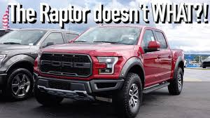 ford raptor 5 things i about the 2017 ford raptor youtube