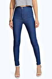 Light Blue High Waisted Jeans Skinny High Waisted Jeans Oasis Amor Fashion