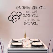 installing dining room vinyl wall decal quotes john robinson