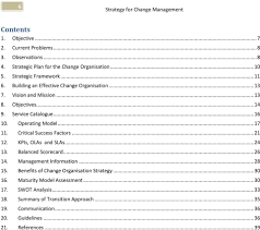 writing a strategy paper strategy for change management pdf operating model 17 11 critical success factors 21 12
