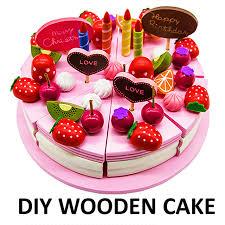 jeux de aux fraises cuisine gateaux bébé jouets en bois fraise fruits gâteau d anniversaire jeu jouets