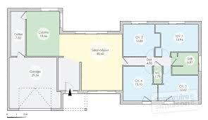 plan de maison 4 chambres gratuit plan maison plain pied gratuit 4 chambres fizzcur